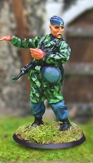Collectors Battlefield CBG002 Fallschirmjager Hauptmann Hermann