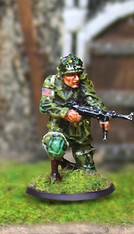 Collectors Battlefield CBA031 101st Airborne Sergeant Tapfer