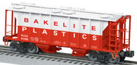 Lionel  6-27059 Bakelite Plastics PS-2 2 Bay Covered Hopper Standard O Scale