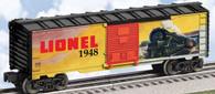 Lionel  6-29950 1948 Lionel  Art Boxcar