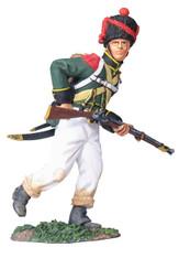W Britain 17965 Nassau 2nd Light Infantry Regiment Carabinier Advancing No.1
