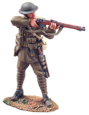 W Britain 23011 1916 British Infantry Standing Firing No.1