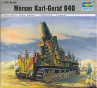 Trumpeter TR00101 Morser Karl German Gun 1:144 Scale