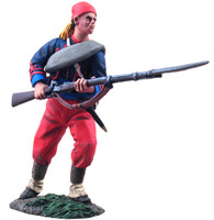 WBritain Toy Soldier 31113 114th Pennsylvania Zouaves Advancing At Ready No. 2