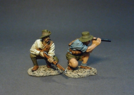 "John Jenkins Designs GLA-12 ""Billy Sing"" and Ion ""Jack"" Idriess Gallipoli Campaign"