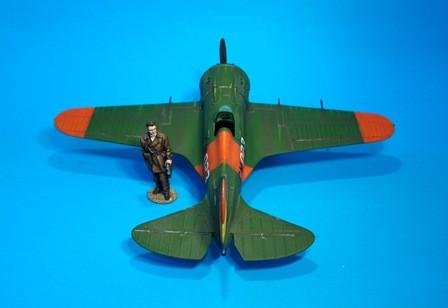 John Jenkins Designs REP-05 Polikarpov I-16 Fighter Plane Spanish Civil War