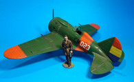 John Jenkins Designs REP-05 Polikarpov I-16 Fighter Plane Spanish Civil War