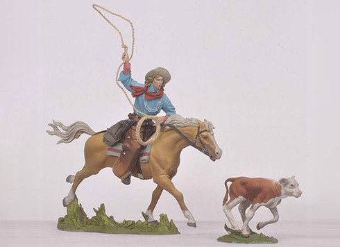 Andrea Black Hawk FW-0410 The Roper The Cowboys Toy Soldiers