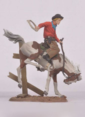 Andrea Black Hawk FW-0411 Bronco Buster The Cowboys Toy Soldiers