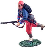 WBritain Toy Soldier 31104   114th Pennsylvania Zouaves Advancing At Trail No. 1