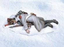 Andrea Black Hawk BH1015 Dead Infantryman