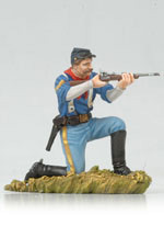 Andrea Black Hawk BH0119 Kneeling US Cavalryman Shooting Carbine