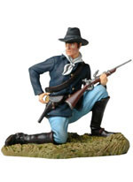 Andrea Black Hawk BH0116 Kneeling US Cavalryman Loading Carbine