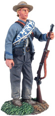 WBritain Soldier 31131 Confederate Standing In Reserve Resting Musket No. 1