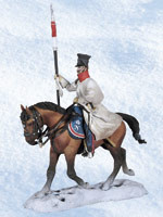 Andrea Black Hawk BH1005 Polish Lancer on Horseback