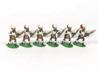 Trophy Miniatures ZS17A Zulus Advancing Ingobamakhosi Regiment