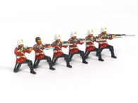 Trophy Miniatures ZS30 The Kneeling Firing Set British Privates