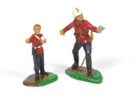 Trophy Miniatures ZS39 Lt. Col. Henry Pulleine and Bugler