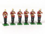 Trophy Miniatures ZS49 Fixed Bayonets British 24th Regiment
