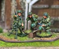 Collectors Battlefield CBA039 101st Airborne 81mm Mortar Team
