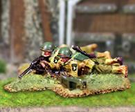 Collectors Battlefield CBA044 327th GIR 30 Cal. Machine Gun Team