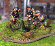 Collectors Battlefield CBG019 SS Panzergrenadier 8cm Mortar Team