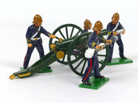 Trophy Miniatures EQ51 Royal Artillery Gun with Crew