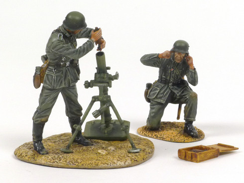 First Legion GERSTAL044 German Heer Infantry 80mm Mortar Team