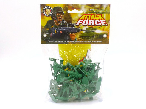 Attack Force US Soldiers Billy V Toys Collectible Plastic Soldiers 41111