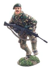 WBritain Soldier 24000 Elite Forces British Royal Marine Commando Falklands 1982
