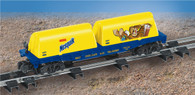 American Flyer Lionel  6-48537 Nestle Nesquick Flatcar with Milk Containers