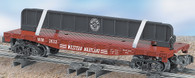 American Flyer Lionel  6-48544 Western Maryland Flatcar with Girder S Gauge