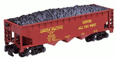 American Flyer Lionel  6-48619 Union Pacific Three Bay Hopper With Coal Load S Gauge