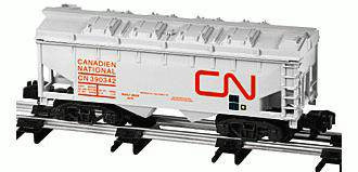 American Flyer Lionel  6-48621 Canadian National Two Bay Covered Hopper S Gauge