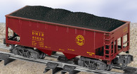 American Flyer Lionel  6-48628 Duluth, Missabe & Iron Range Hopper with Ore Load S Gauge