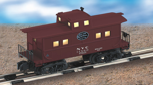 American Flyer Lionel  6-48725 New York Central Caboose S Gauge