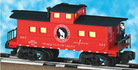 American Flyer Lionel  6-49017 Great Northern Animated Caboose S Gauge