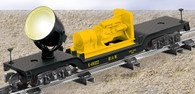 American Flyer Lionel  6-49022 Maintenance of Way Searchlight Car S Gauge