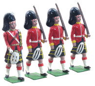 WBritain 49004 Gordan Highlanders Marching at Slope Vintage Box