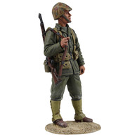 WBritain 13018 U.S. Marine Rifleman, WWII, 1943-1945