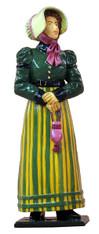 WBritain 60002 Lady in Walking Dress Petticoats 1820-1825
