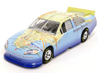 Lionel Nascar NYC Subway MTA Limited Edition Map Blue 1:24 DieCast