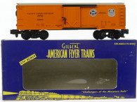 American Flyer Lionel  6-48808 Pacific Fruit Express Reefer S Gauge