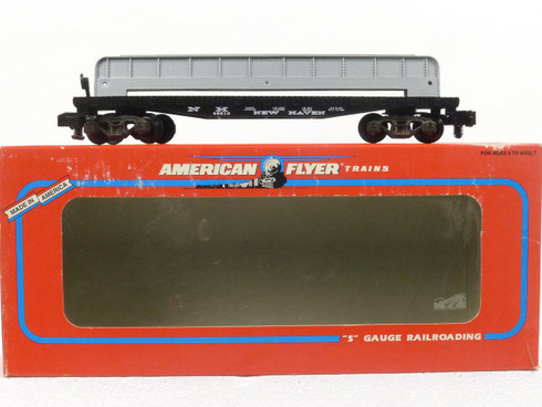 American Flyer Lionel  6-48515 New Haven Flatcar with Girder Load S Gauge