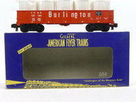 American Flyer Lionel  6-48525 Burlington Gondola with Load S Gauge