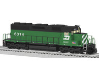 Lionel 6-82276 Burlington Northern Legacy Scale SD40 Diesel #6314 Locomotive