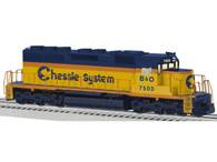 Lionel 6-82274 B & O Chessie System Legacy Scale SD40 Diesel #7500 Locomotive