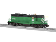Lionel 6-82784 Burlington Northern GP9 Diesel #1706 Locomotive