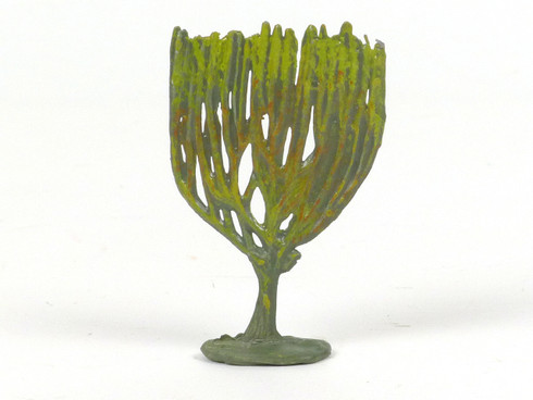 Hornung Art Miniature Metal Cast Medium Candelabra Shaped Bush 43S Hand Painted
