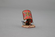Thomas Gunn Miniatures ROM016A Take Cover (red shield) Roman Empire